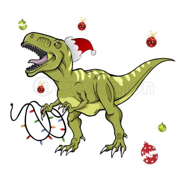 Christmas Dinosaur.T Rex Christmas Dinosaur Coffee Mug Kidozi Com