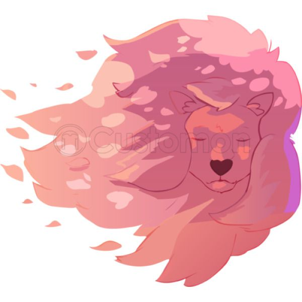 b539e44b9 Steven Universe Pink Lion Baby Onesies   Kidozi.com