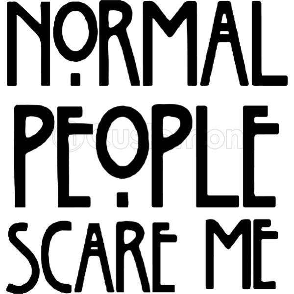 d659a69b Normal People Scare Me Travel Mug   Kidozi.com
