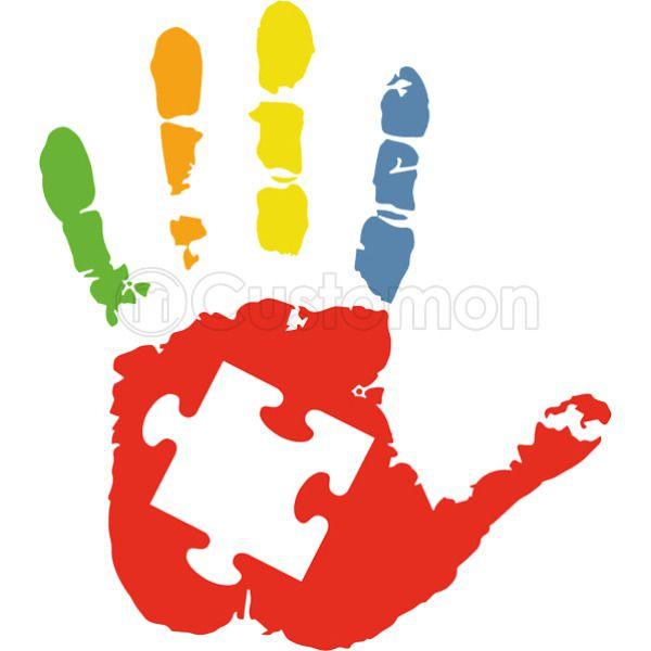 05488aa222a Autism Awareness Hand Kids Hoodie | Kidozi.com