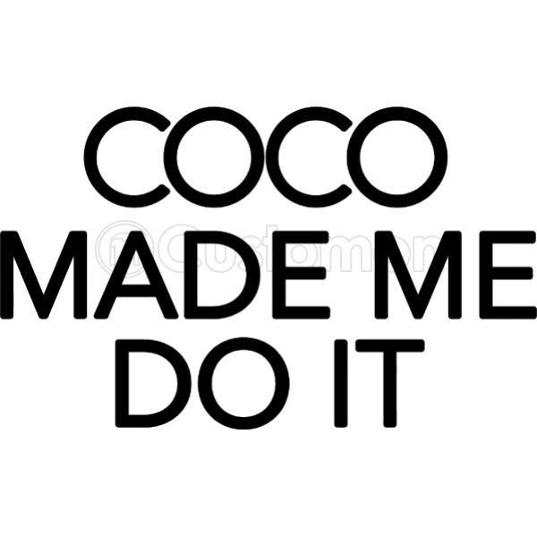 4c0837b8 Coco Made Me Do It inspired logo Travel Mug | Kidozi.com