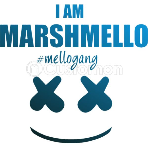 6ace649f Marshmello The Dj I am Marshmello Mellogang Men's T-shirt | Kidozi.com