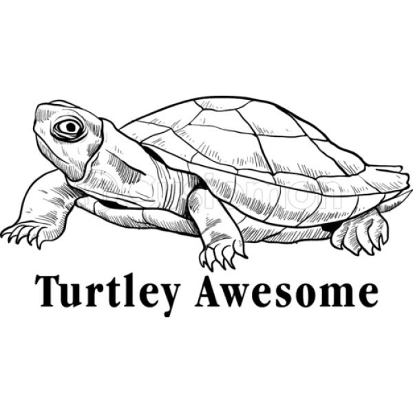 Turtley Awesome Youth T Shirt