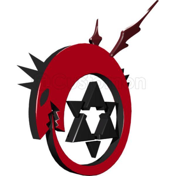 Fullmetal Alchemist 3d Symbol Baby Bib Kidozi