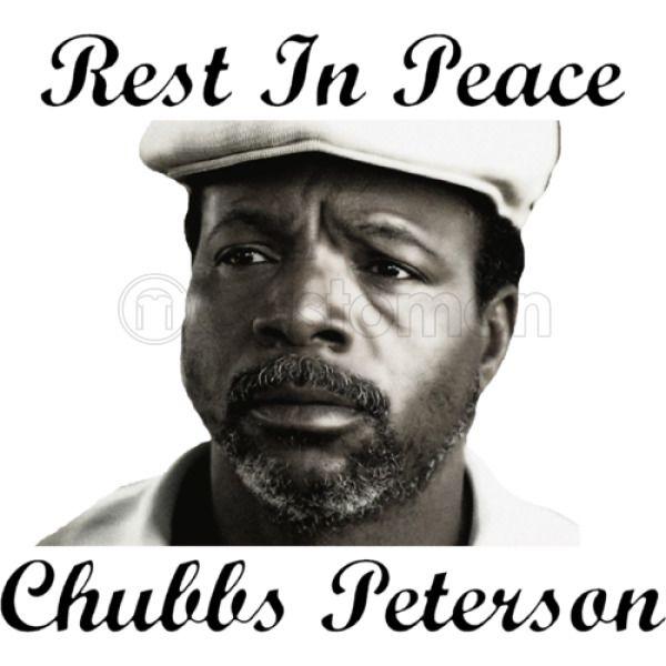 6557dea9 Rest In Peace Chubbs Peterson Happy Gilmore Men's T-shirt | Kidozi.com