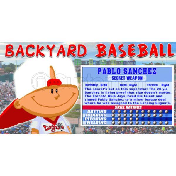 Backyard Baseball Pablo Sanchez - House of Things Wallpaper