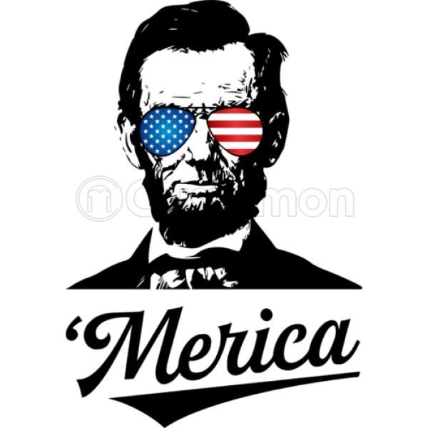 e3b3ae7955c6ea Abraham Lincoln July 4th Kids Tank Top ...