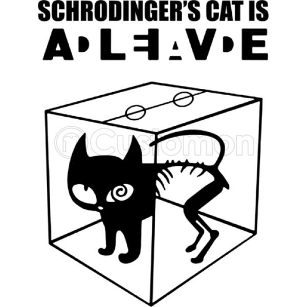 Schrodingers Cat Wanted Dead Or Alive Youth T Shirt