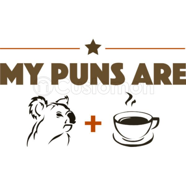 My Puns Are Koala Tea Baby Bib | Kidozi com