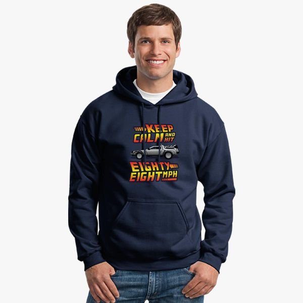 Mens Funny Hoodie Keep Calm /& Carry On Drifting