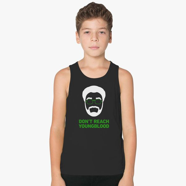 57393539f Don't Reach, Youngblood Kids Tank Top | Kidozi.com