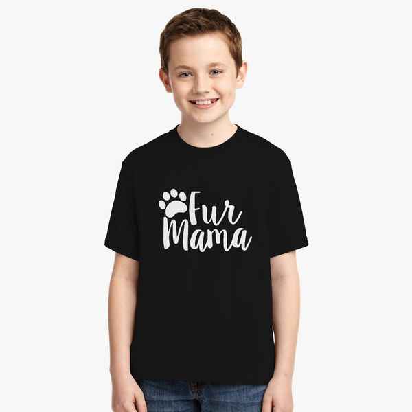 b70303ae1308 Fur Mama, Animal Lover, cat and dog, cat and dog lover, rescue dog Youth T- shirt +more