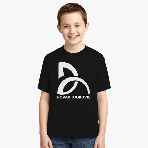 Novak Djokovic Logo Youth T Shirt Kidozi Com