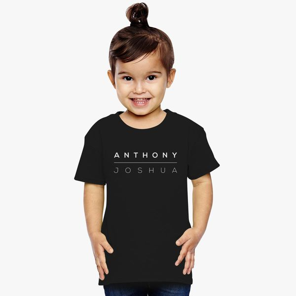 6aec035f Anthony Joshua Logo Toddler T-shirt | Kidozi.com
