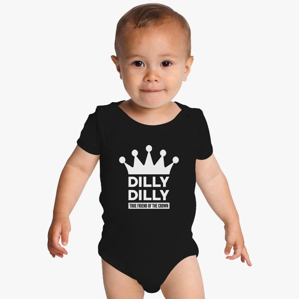 fc215145ed Dilly Dilly True Friend Of The Crown Baby Onesies | Kidozi.com