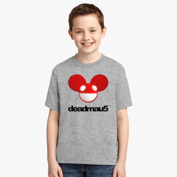 Childs Tee for Girls /& Boys White 12 CXHKJ Deadmau5 While