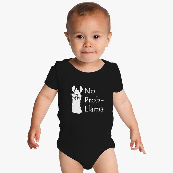 df10da82f No Prob-Llama Baby Onesies