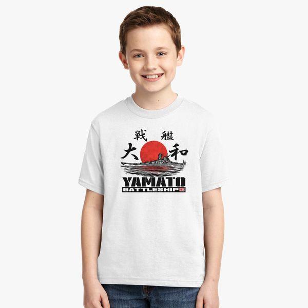69a7a6ce4 Battleship Yamato Youth T-shirt Change style
