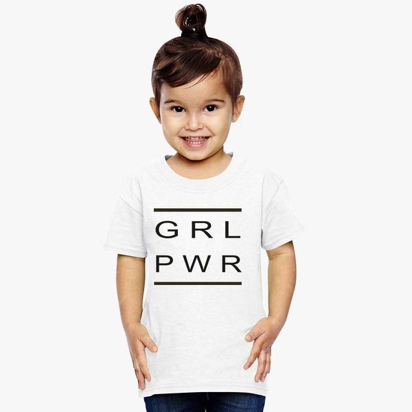 e40ef54f girl power Toddler T-shirt | Kidozi.com