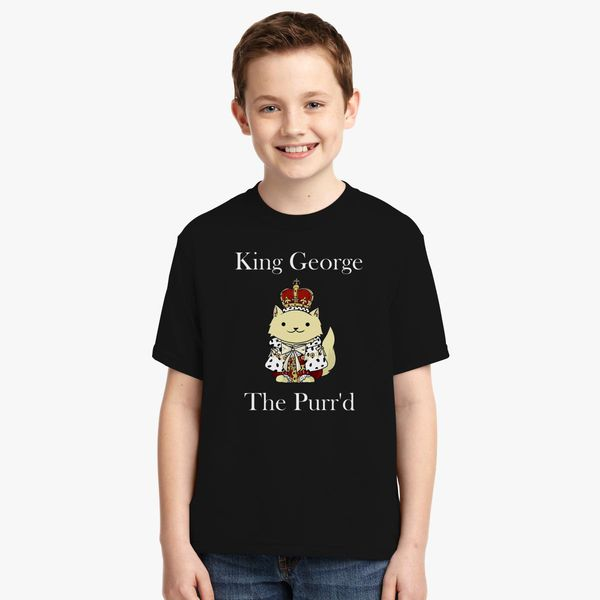0ec710c2f King George the Purr d Youth T-shirt