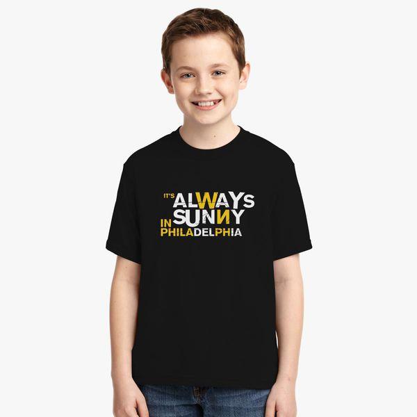 It S Always Sunny In Philadelphia Logo Youth T Shirt Kidozi Com