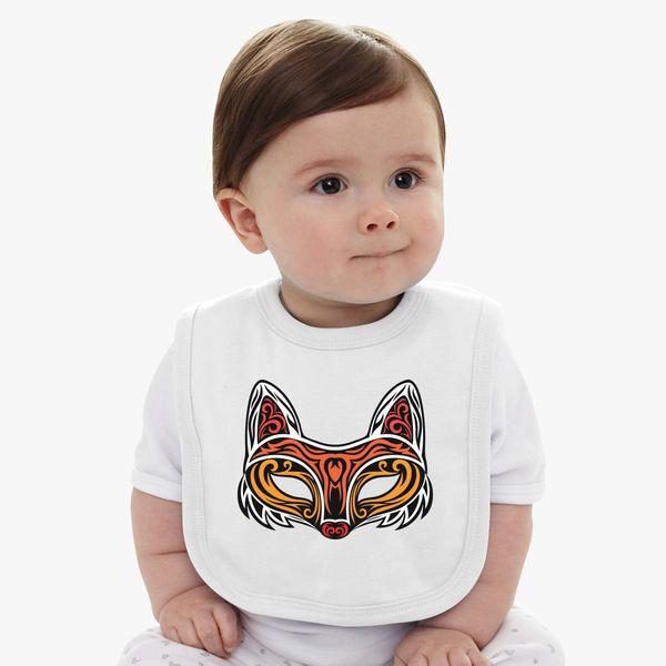 Fox Mask Baby Bib | Kidozi com