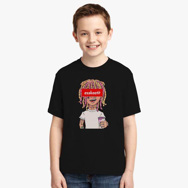 0dc93e6487a Lil Pump Esketit High Quality Youth T-shirt