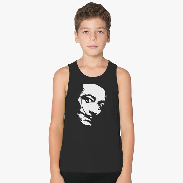 Salvador Dali Kids Tank Top | Kidozi com