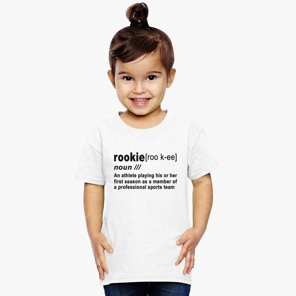 Rookie Definition Donovan Mitchell Toddler T-shirt