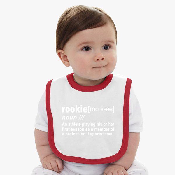 Rookie Definition Donovan Mitchell Baby Bib