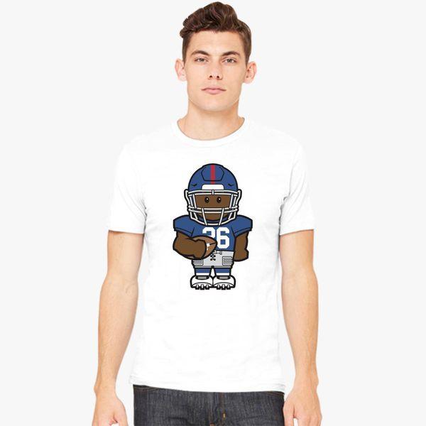 new styles 14a65 f58bf Saquon Barkley Minicon Men's T-shirt | Kidozi.com