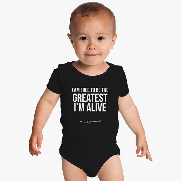 Free to be greatest - Sia Baby Onesies | Kidozi com