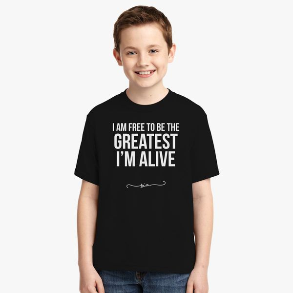 Free to be greatest - Sia Youth T-shirt | Kidozi com