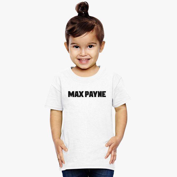 Max Payne Logo Toddler T Shirt Kidozi Com