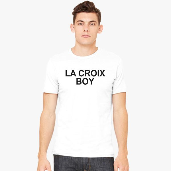 655496ffd4fe2a La Croix Boy - Quote Book Hipster Men s T-shirt