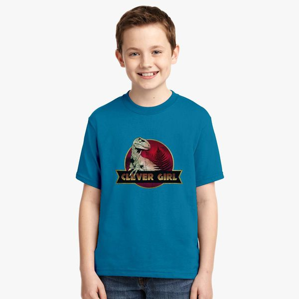 Clever Girl Blue: Clever Girl Youth T-shirt