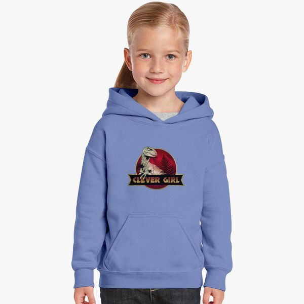 Clever Girl Blue: Clever Girl Kids Hoodie