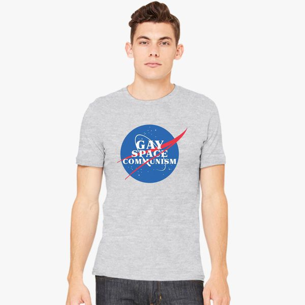 27813586 Gay Space Communism Men's T-shirt | Kidozi.com