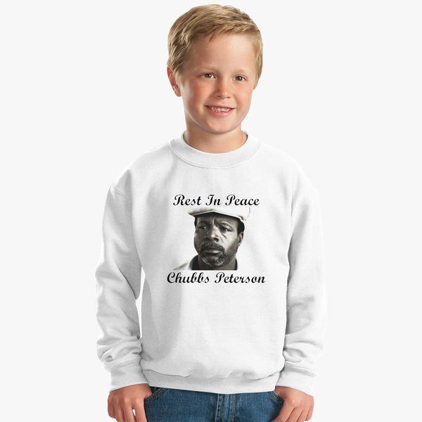 e45ebf13 Rest In Peace Chubbs Peterson Happy Gilmore Kids Sweatshirt | Kidozi.com