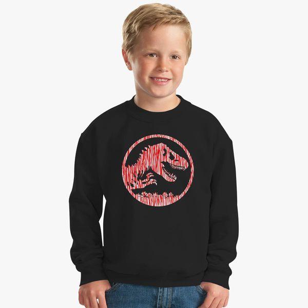 Jurassic Park Melting Kids Sweatshirt Kidozi Com