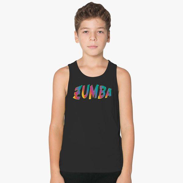 Zumba Dancing Kids Tank Top  