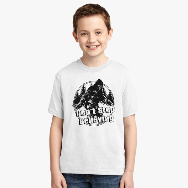 b3e831503 Dont-Stop-Believing Youth T-shirt | Kidozi.com