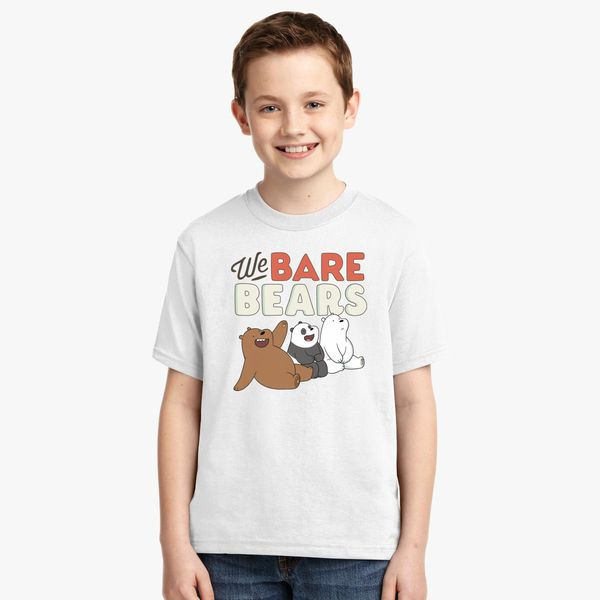 d32f161e1 We Bare Bears Youth T-shirt | Kidozi.com