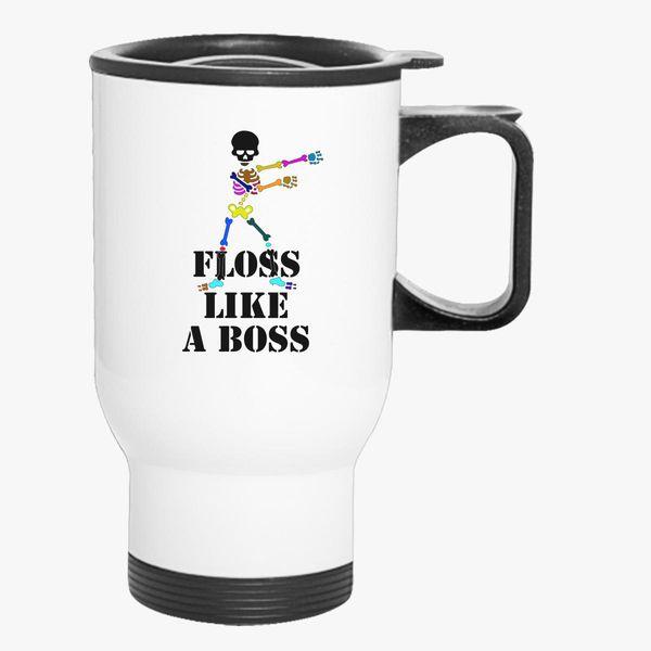 floss like a boss dance Travel Mug | Kidozi com