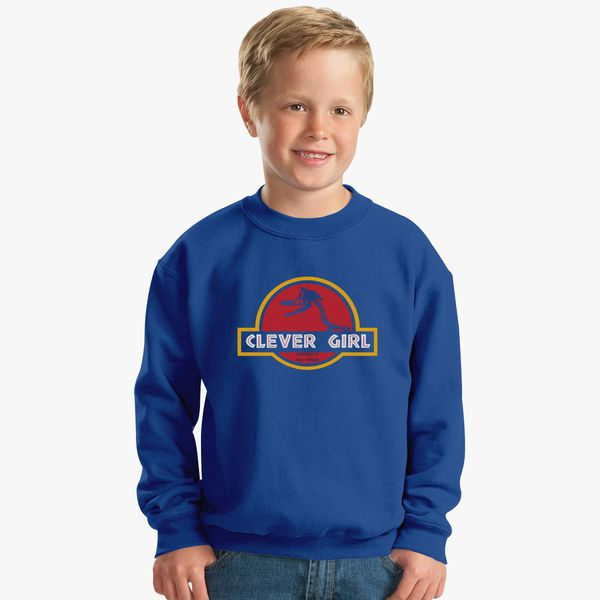 Clever Girl Blue: Clever Girl Kids Sweatshirt