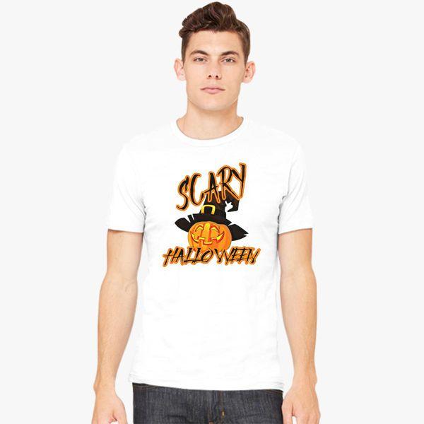 1ac24b0045 Scary Halloween Men's T-shirt | Kidozi.com
