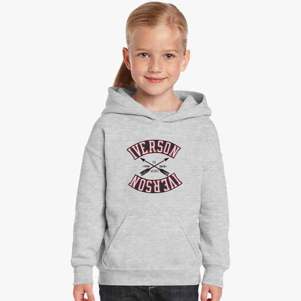 new products 4c031 3463c ALLEN IVERSON Kids Hoodie | Kidozi.com