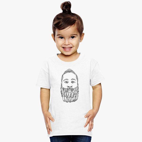 James Harden Fear The Beard Toddler T Shirt Kidozi Com