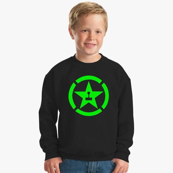 achievement hunter logo Kids Sweatshirt | Kidozi com