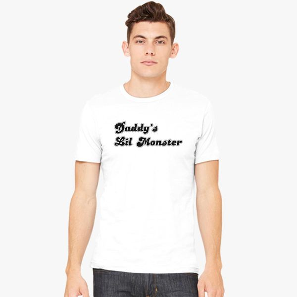 239a89f4 Daddys Lil Monster Men's T-shirt | Kidozi.com